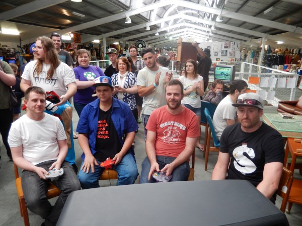 The Mario Circuit finalists get ready to take on the track